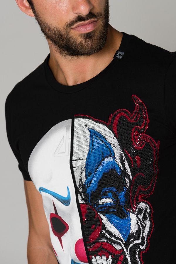 Tee Shirt Homme Horspist JASPER BLACK HP