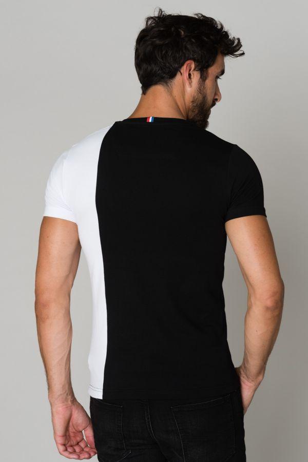 Tee Shirt Homme Horspist ORLANDO BLACK/WHITE