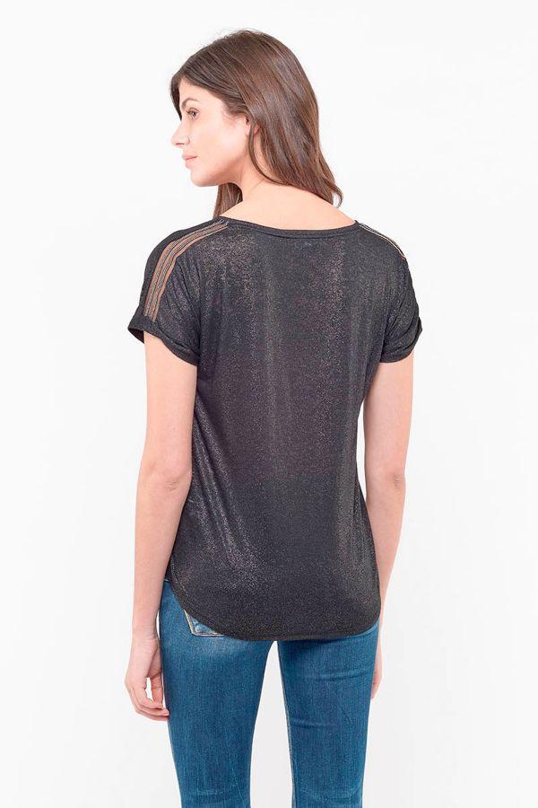 Tee Shirt Femme Le Temps Des Cerises OKINAWA BLACK