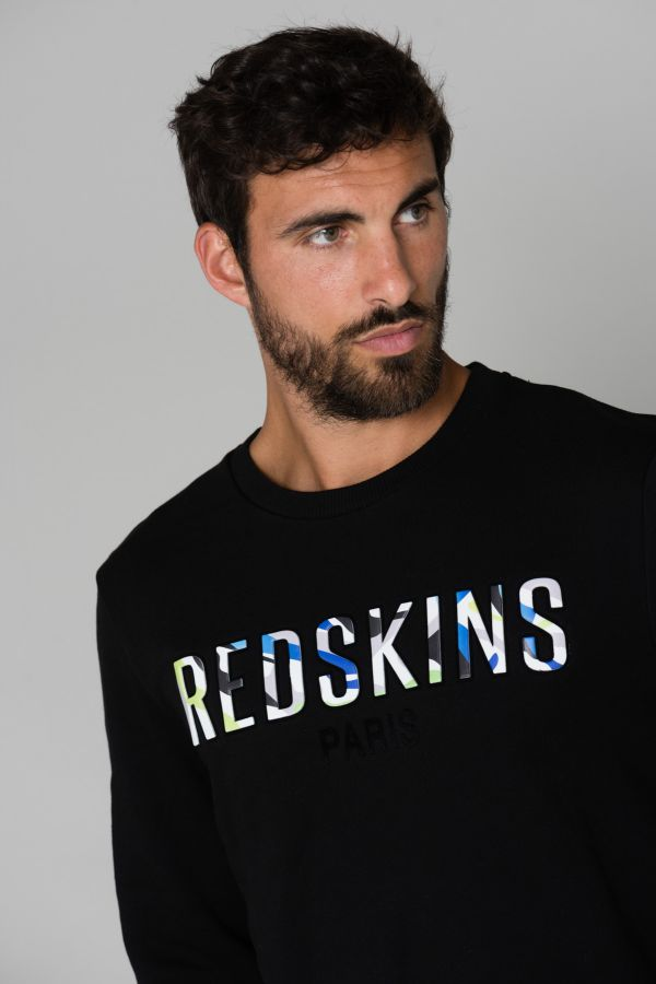 Pull/Sweatshirt Homme Redskins PANAME COACH BLACK