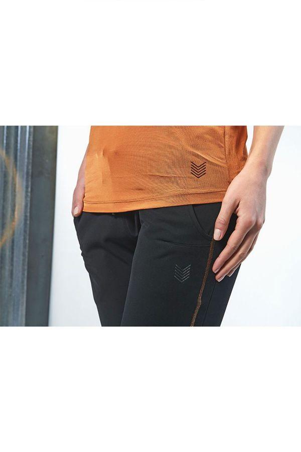 Pantalon Femme Hbt PANTALON SURJET CRUZ CUIVRE NOIR