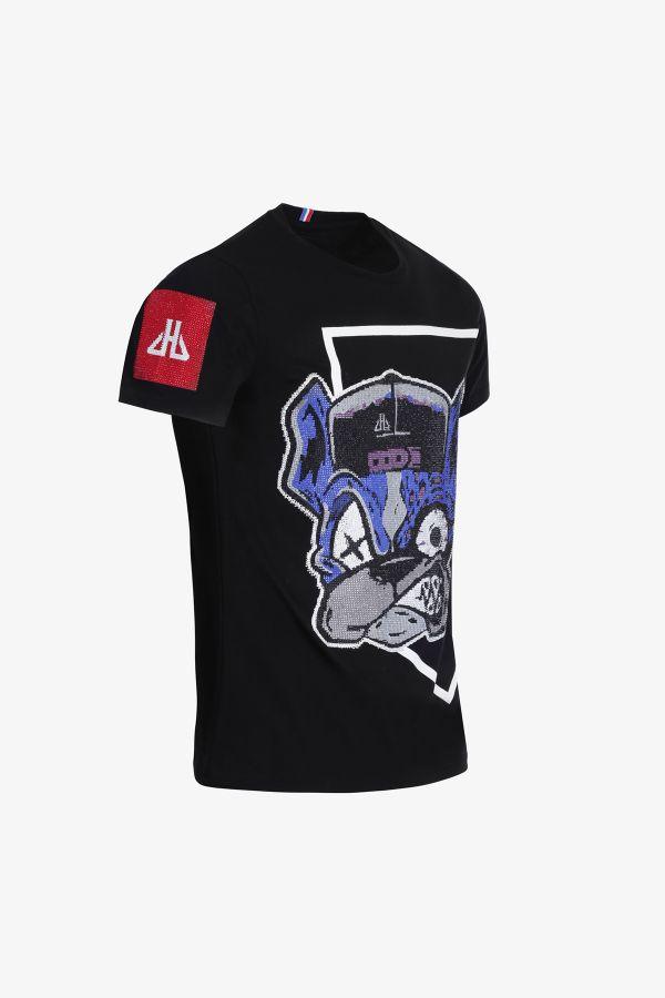 Tee Shirt Homme Horspist LUIS BLACK