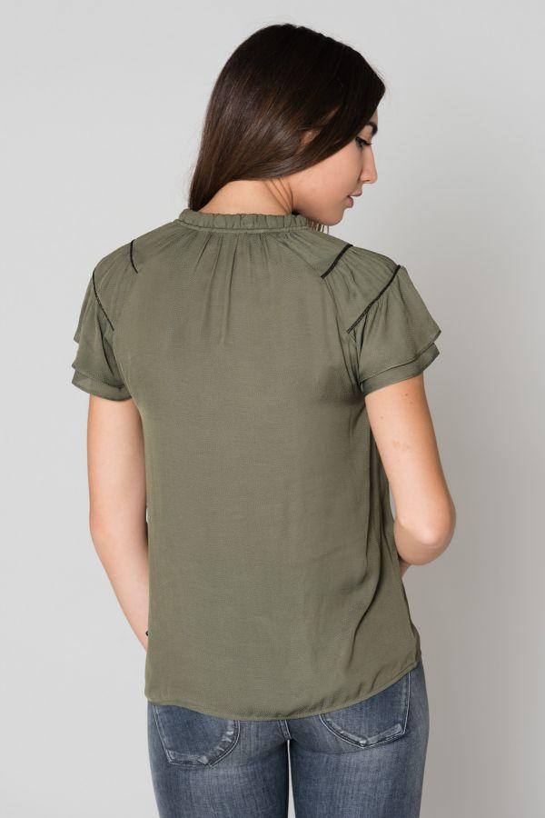 Tee Shirt Femme Le temps des Cerises TOP F LISA AVOCADO