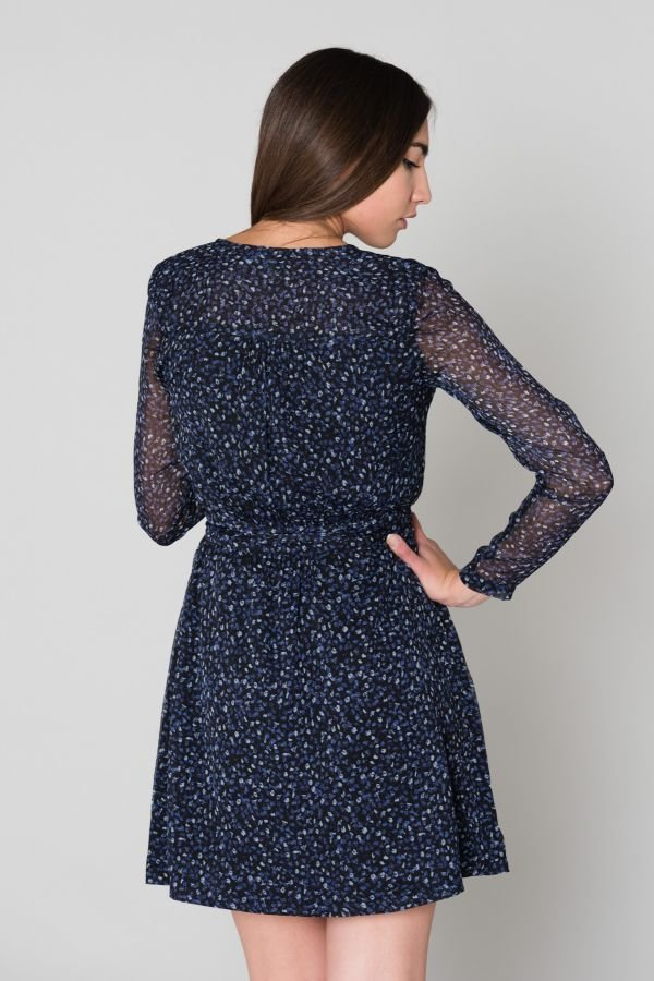 Jupe/robe Femme Le Temps Des Cerises ROBE DONIA DARK COBALT
