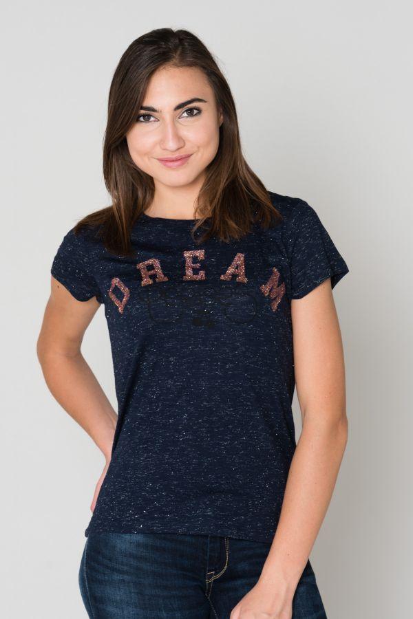Tee Shirt Femme Le Temps Des Cerises TSHIRT F ROMY MIDNIGHT