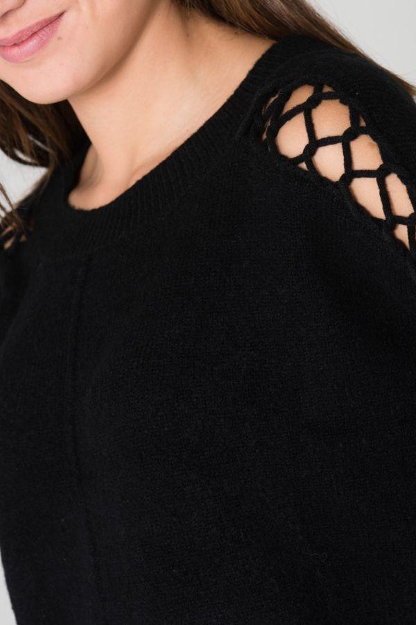 Pull/sweatshirt Femme Le Temps Des Cerises PULL ELENA BLACK