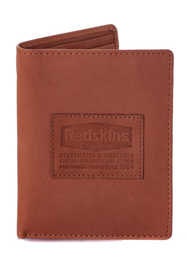 Portefeuille Homme Accessoires Redskins PORTEFEUILLE RED IGLOO COGNAC