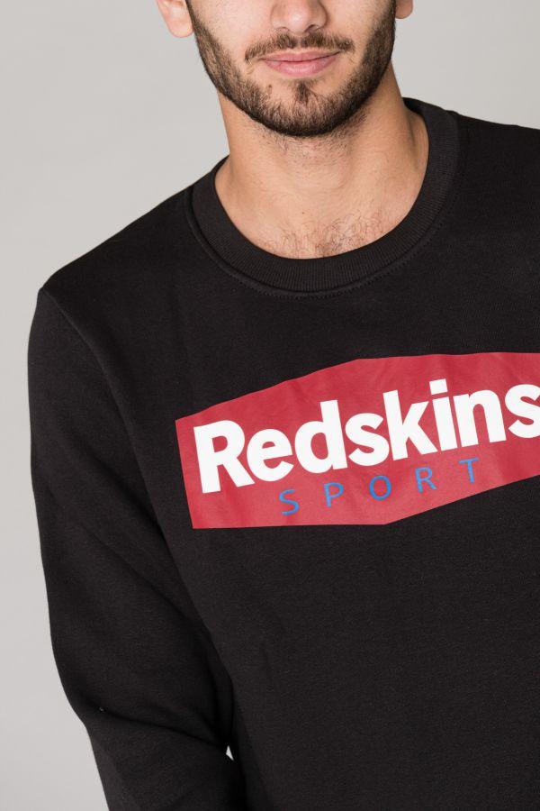 Pull/sweatshirt Homme Redskins TYRAN POSTER BLACK