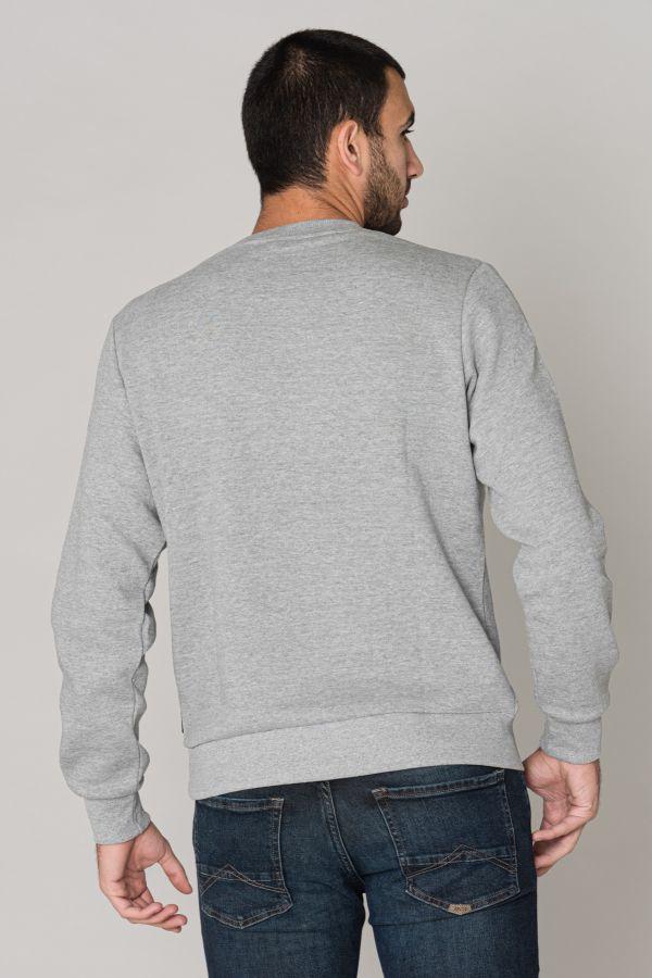 Pull/sweatshirt Homme Redskins TYRAN POSTER HEATHER GREY