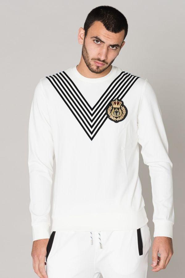 Pull/sweatshirt Homme Horspist DIEGO WHITE