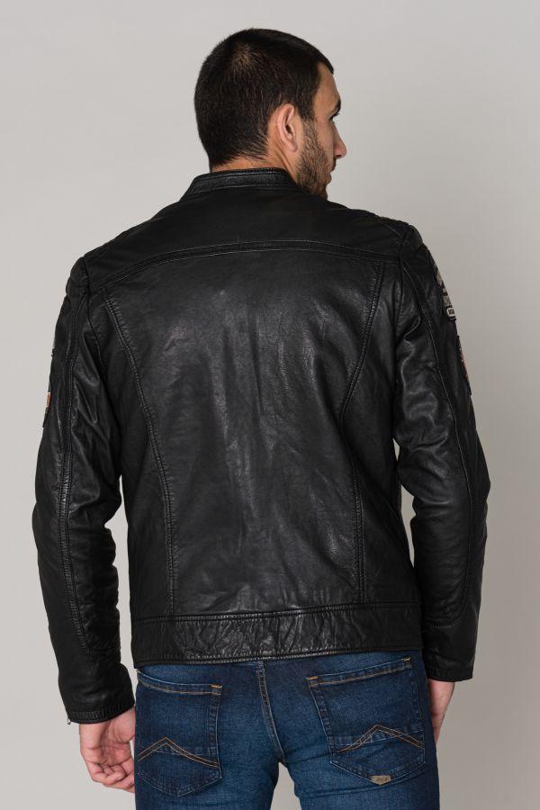 Blouson Homme Schott LCSPYDERBD BLACK