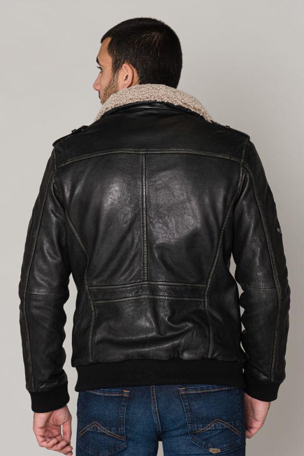 Blouson Homme Gipsy REBOMB BLACK BEIGE