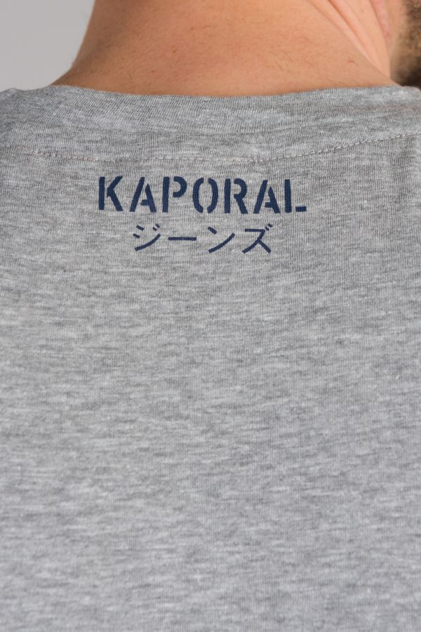 Tee Shirt Homme Kaporal ORZO MEDIUM GREY MEL