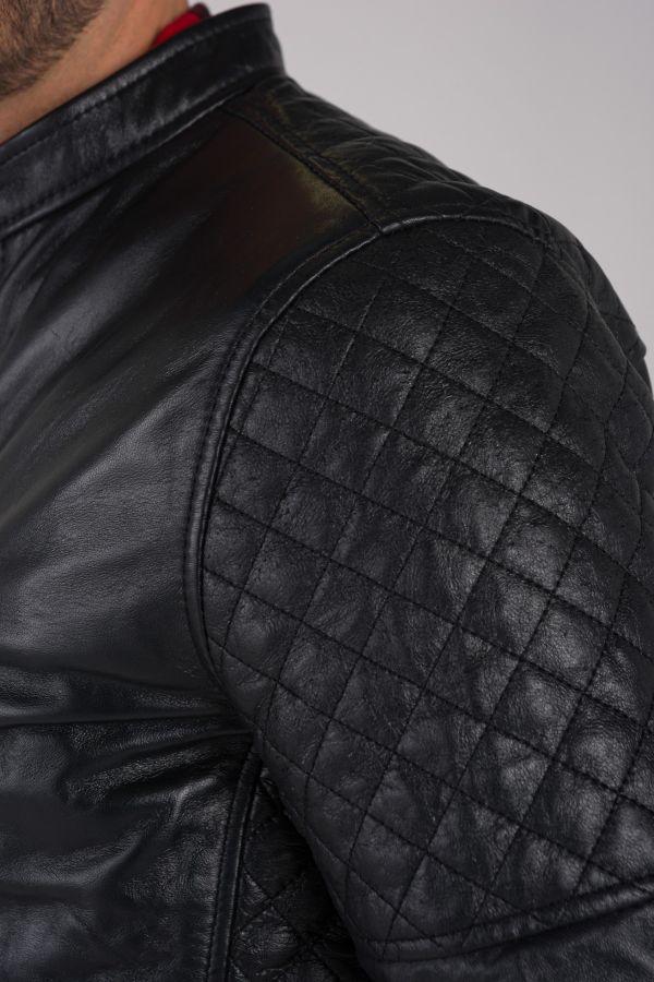 Blouson Homme Schott LCJOE2 BLACK
