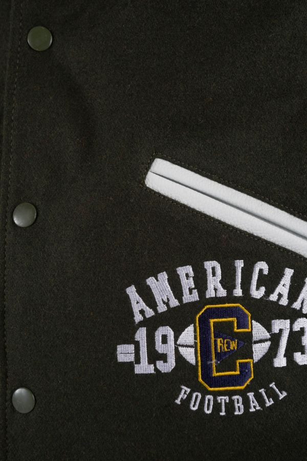 Blouson Homme American College REF 72 KAKI/WHITE