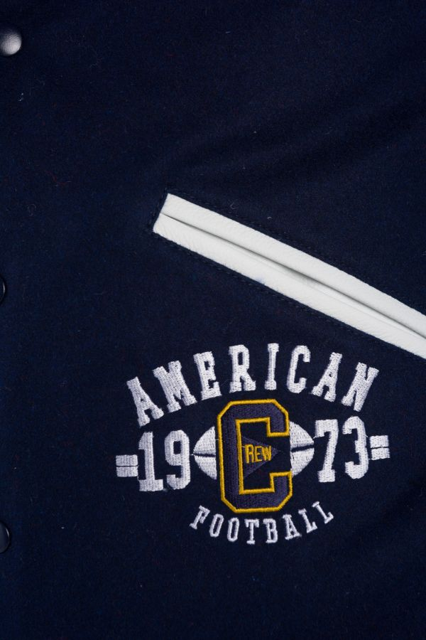 Blouson Homme American College REF 72 NAVY/WHITE