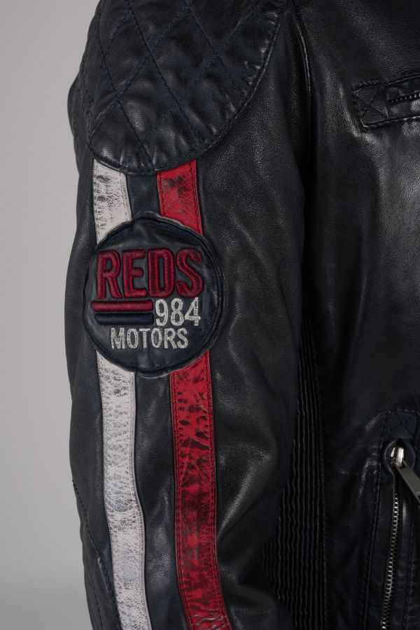 Blouson Homme Redskins RAFTER CALISTA NAVY REDWH