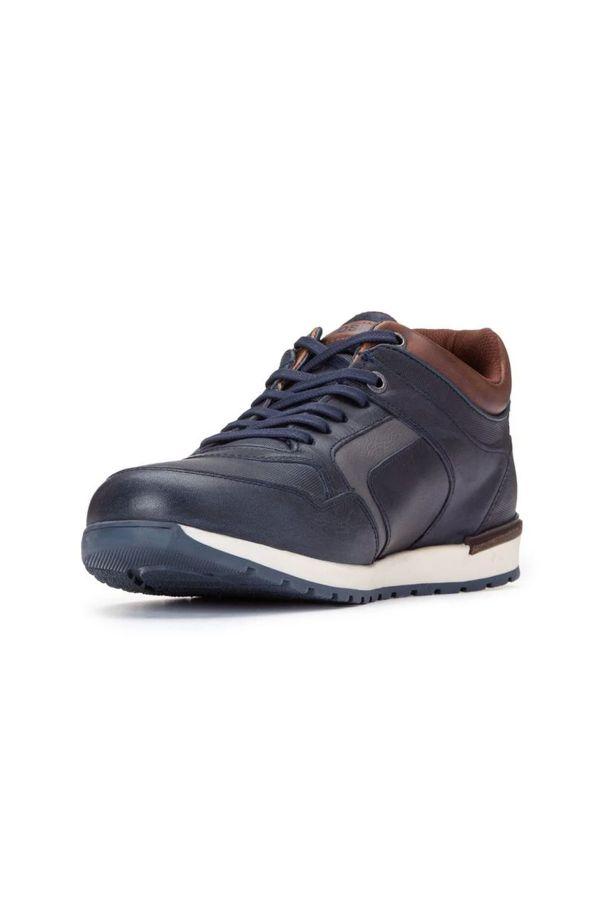 Chaussures Homme Chaussures Redskins SUREAU MARINE GRIS COGNAC