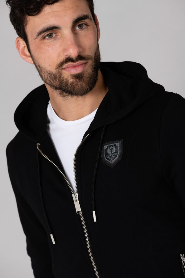 Pull/sweatshirt Homme Horspist SWEAT NAKA BLACK