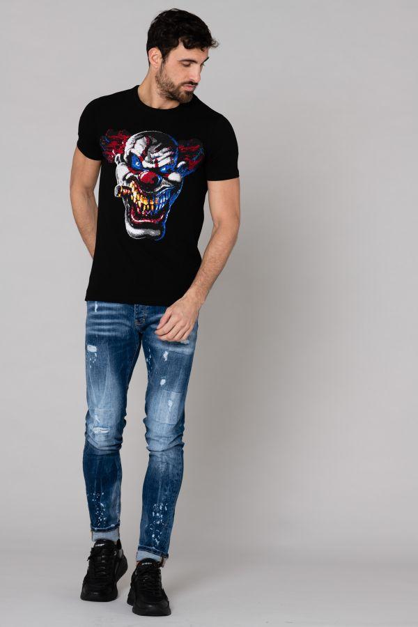 Tee Shirt Homme Horspist TSHIRT CERON BLACK