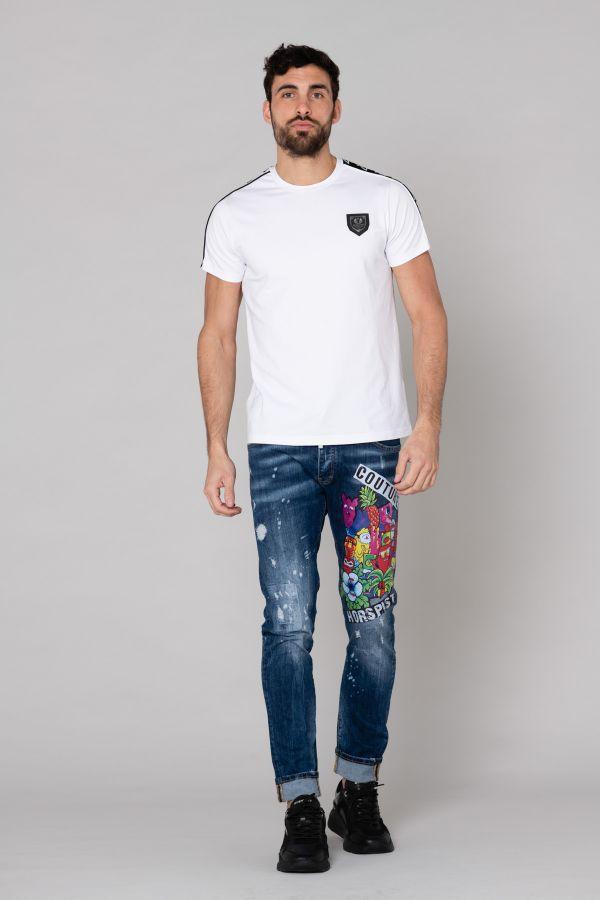 Tee Shirt Homme Horspist HOLY WHITE