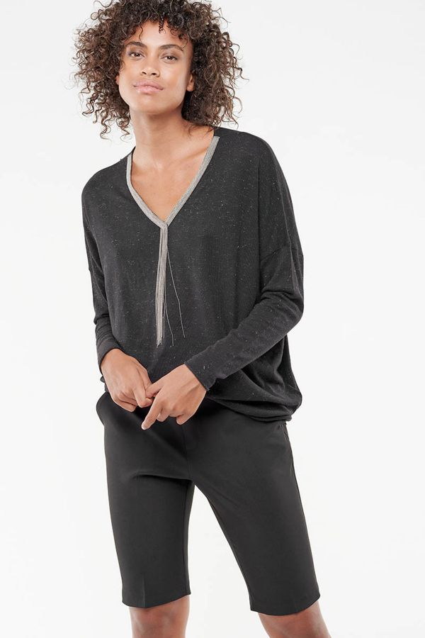 Pull/sweatshirt Femme Le Temps Des Cerises PULL F MANAE BLACK