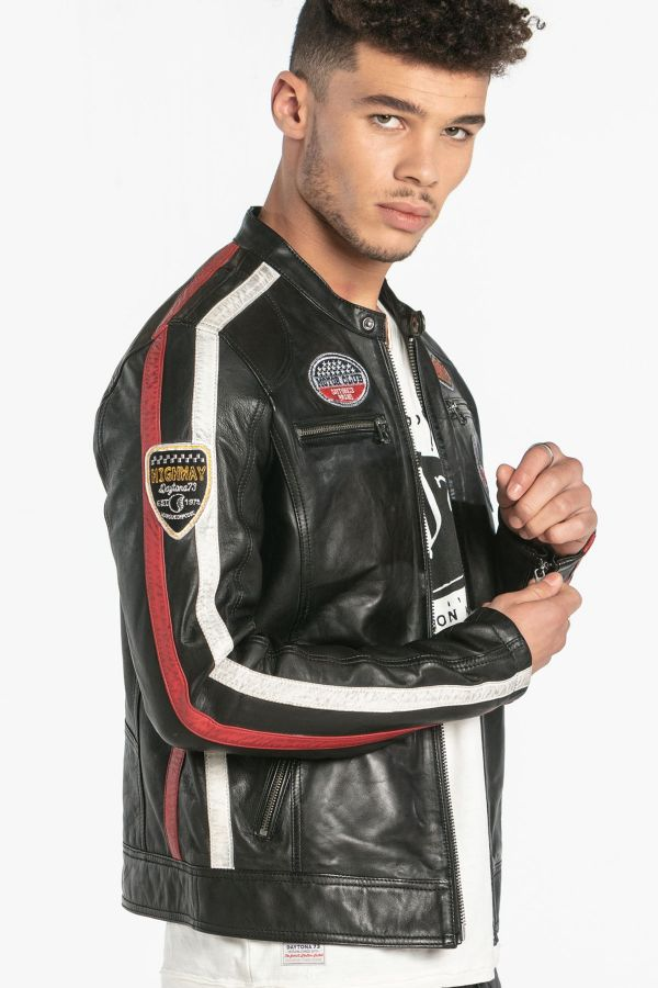 Blouson Homme Daytona OLIVER SHEEP ATLAS VEG BLACK