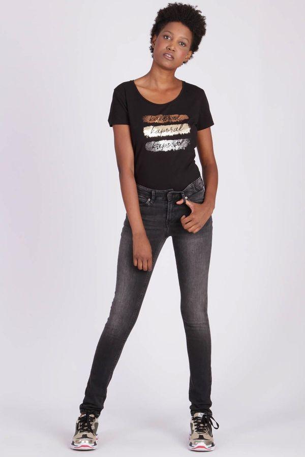 Jean Femme Kaporal CAMIE OLD BLACK