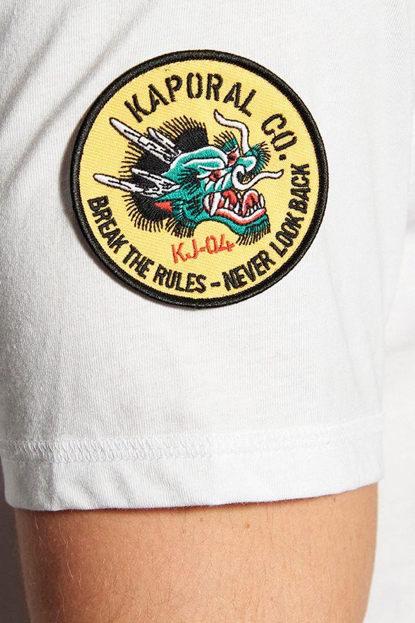 Tee Shirt Homme Kaporal TEFAR WHITE
