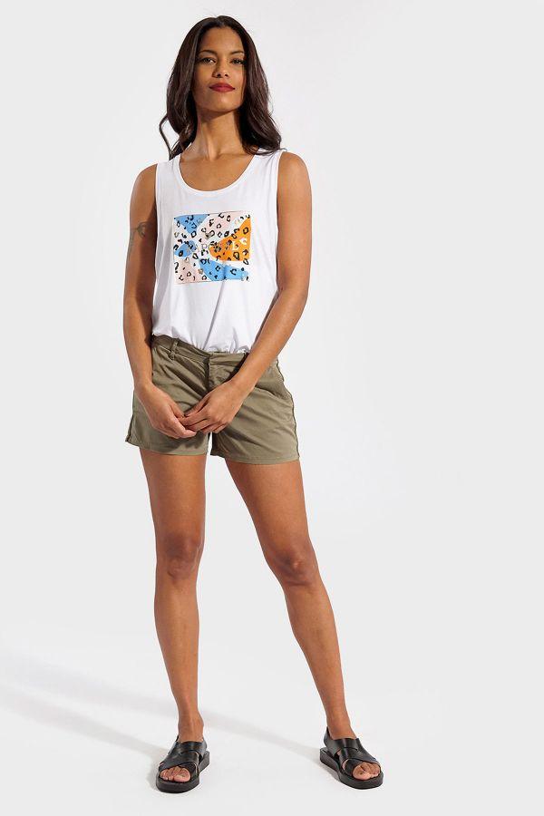 Tee Shirt Femme Kaporal BOPA WHITE
