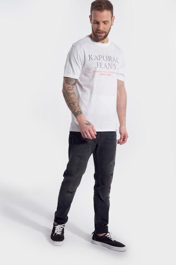 Tee Shirt Homme Kaporal TITO WHITE