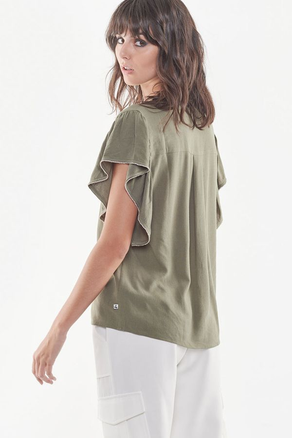 Tee Shirt Femme Le Temps Des Cerises TOP DARKER LIZARD