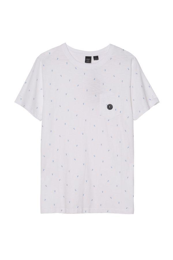 Tee Shirt Homme Le Temps Des Cerises TSHIRT WILSA WHITE