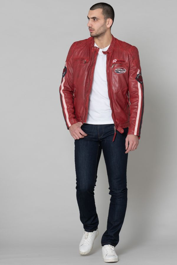Blouson Homme Redskins RAFTER CALISTA RED