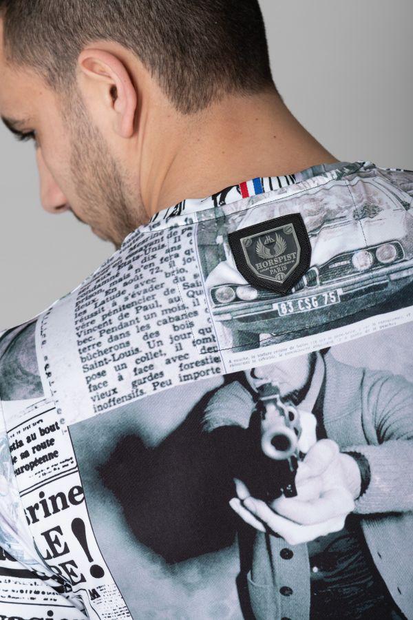 Tee Shirt Homme Horspist NEWTON PAPER