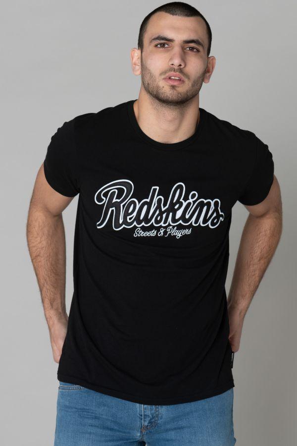 Tee Shirt Homme Redskins PLAYERS CALDER BLACK