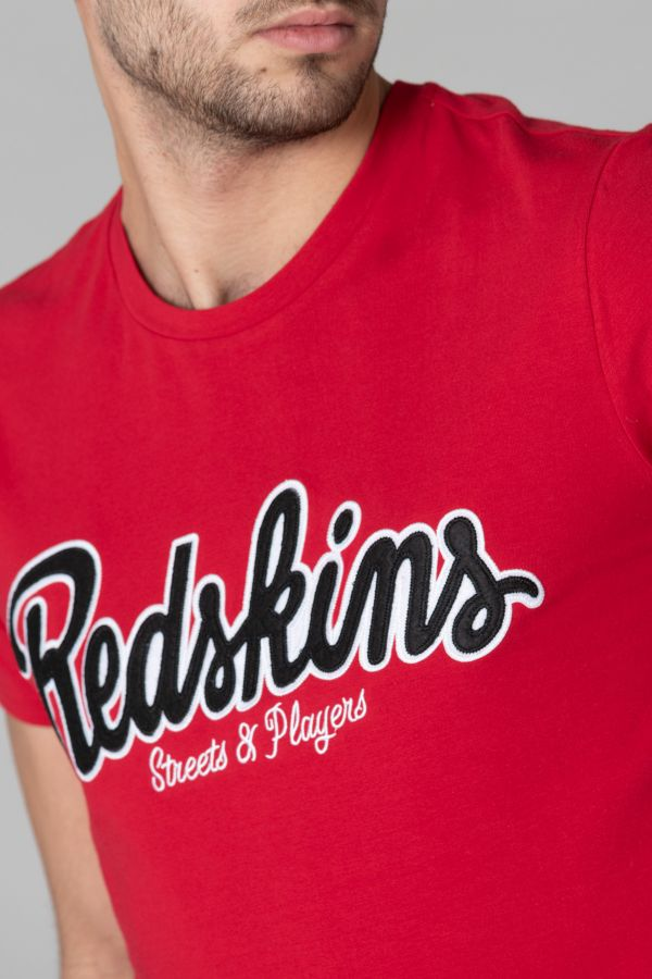 Tee Shirt Homme Redskins PLAYERS CALDER RED