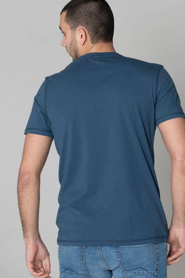 Tee Shirt Homme Kaporal TANGI BLUE US
