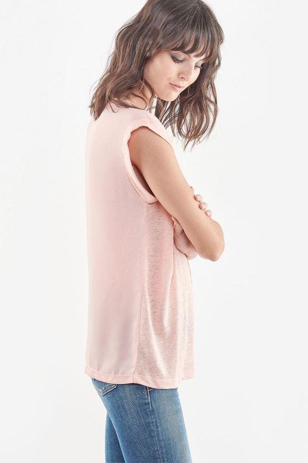Tee Shirt Femme Le Temps Des Cerises TSHIRT F CHRIS PEACH