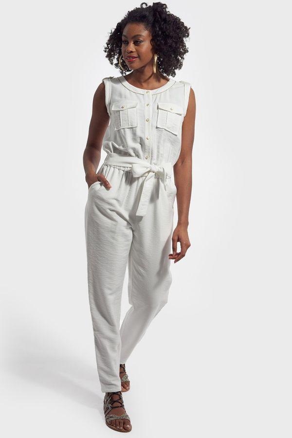 Jupe/robe Femme Kaporal AYLIN OPT WHITE