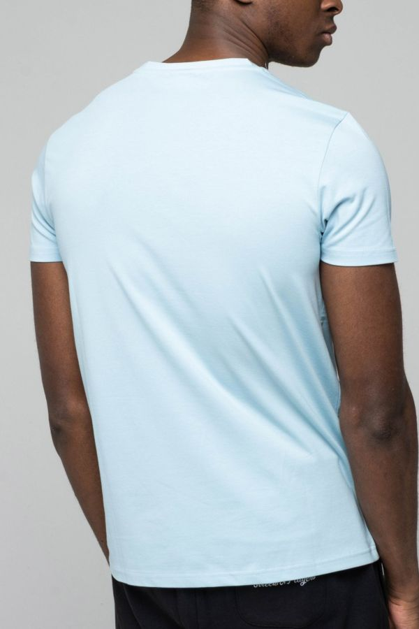 Tee Shirt Homme Redskins MALCOM CALDER SKY BLUE