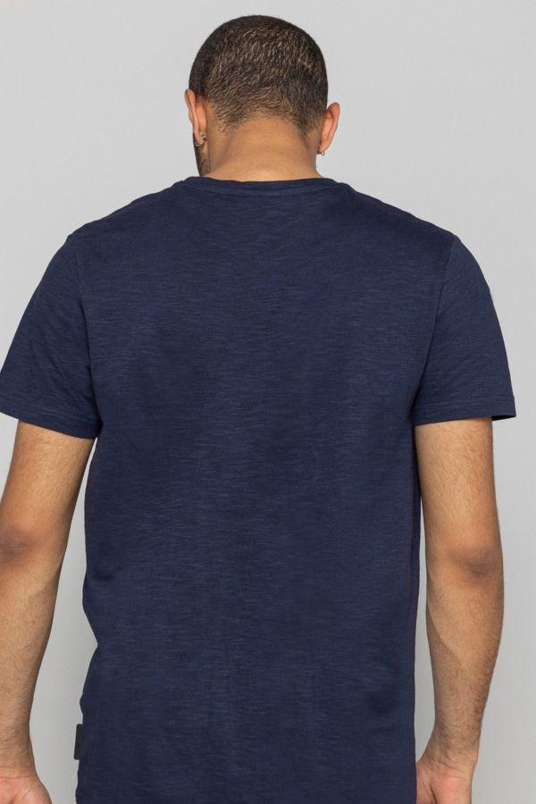 Tee Shirt Homme Redskins SKINNER FLAMES NAVY BLUE