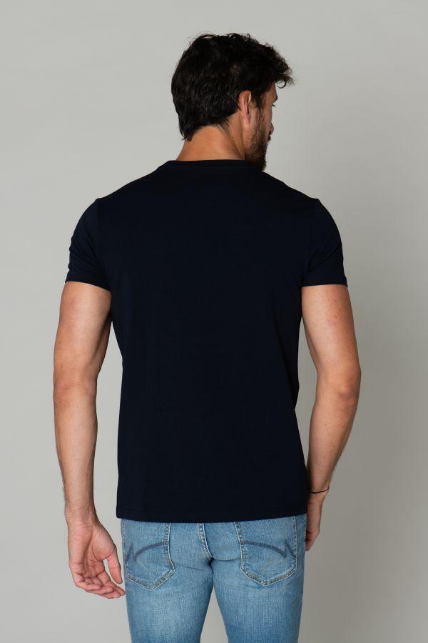 Tee Shirt Homme Redskins MALCOM CALDER NAVY BLUE P20