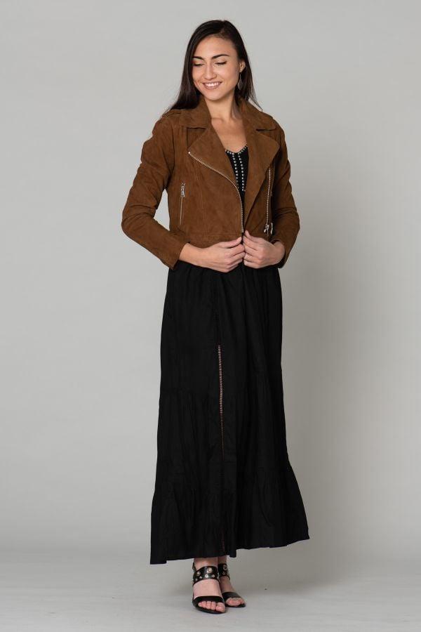 Blouson Femme Oakwood ZULINA COGNAC 507