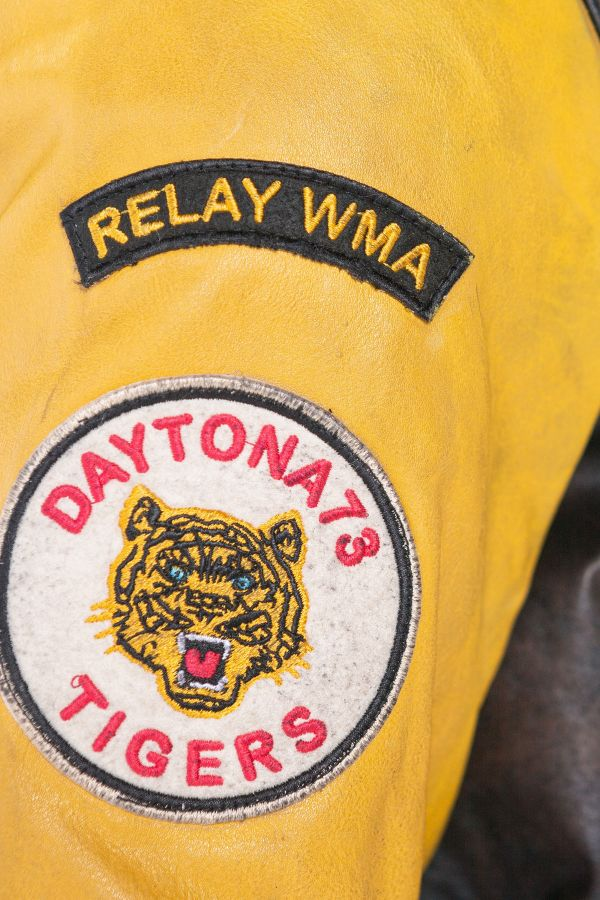 Blouson Homme Daytona BOMBERY BADGES COW BUCCO