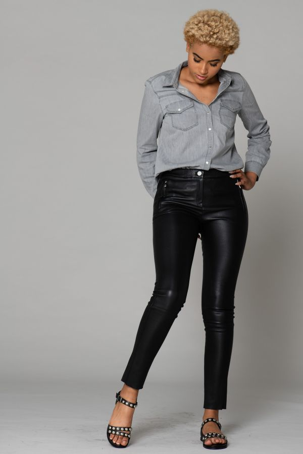 Pantalon Femme Oakwood CELESTE NOIR