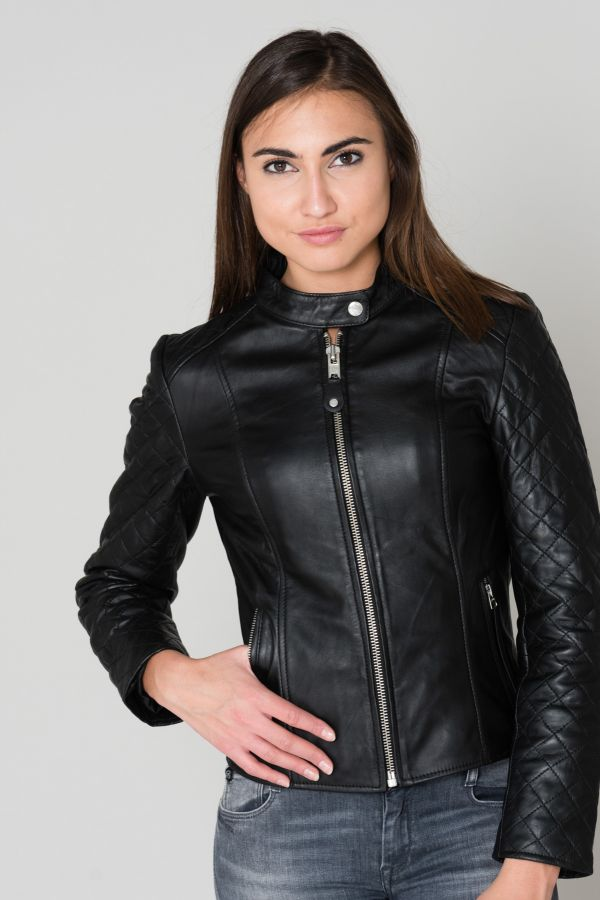 Blouson Femme Schott LCWPALEY BLACK