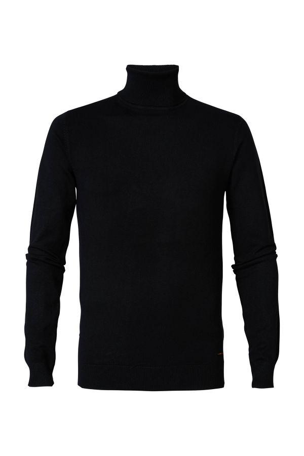 Pull/sweatshirt Homme Petrol Industries KWC204 9999 BLACK