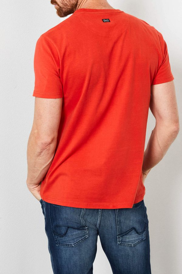 Tee Shirt Homme Petrol Industries TSR600 3096 RED CHILI