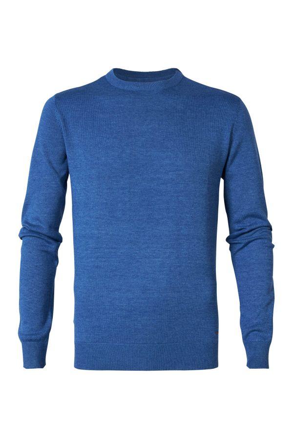 Pull/sweatshirt Homme Petrol Industries KWR201 5128 AZURE BLUE